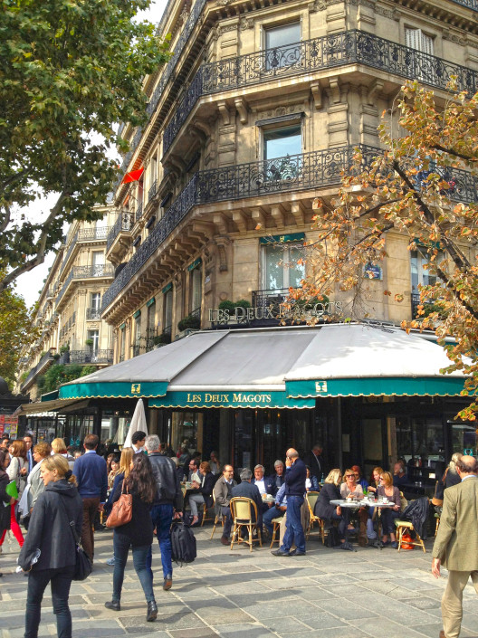 Café Les Deux Magots – Left Bank, Paris