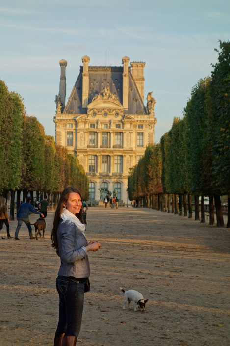 HermitGuide Hollie at Jardin des Tuileries, Paris