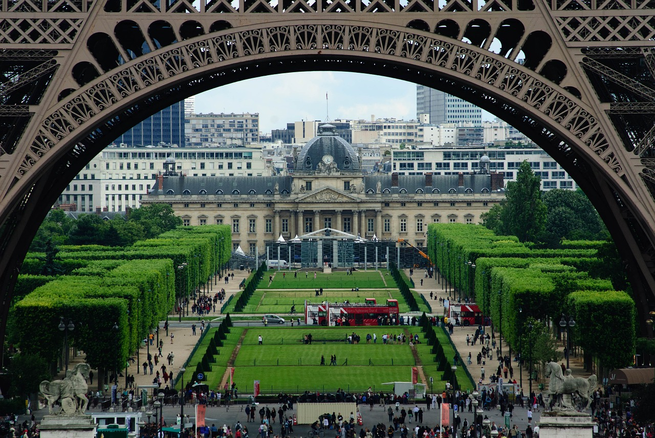 Champ de mars and the great paris expositions for Expo paris mars
