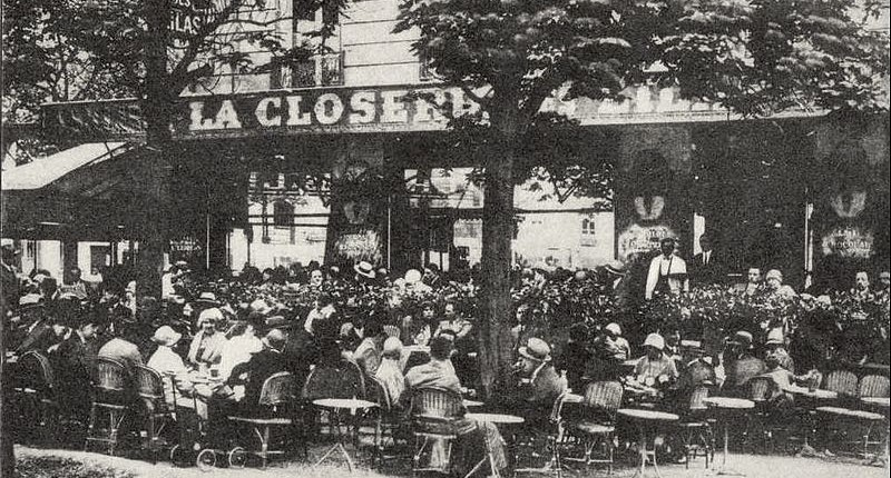 Paris and the Lost Generation La Closerie des Lilas